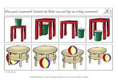 AB-Raumlage-Bilder-zuordnen-10.pdf Youtube News, Prepositions, Health And Wellness, Depth Perception, Teaching Math, Educational Games, First Grade, Primary School, Photo Illustration