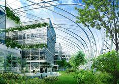 Vincent Callebaut Architectures. CHRYSALIS, CAMPUS RDI  CLERMONT-FERRAND 2007  FRANCE