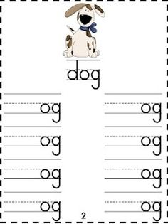 Word Families Under Construction FREEBIE!