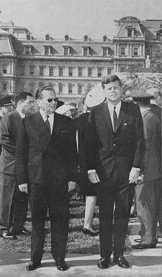 1963. 17 Octobre. JF Kennedy with Tito