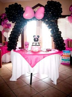 Minnie Mouse Birthday Party Ideas | Meowchie's Hideout