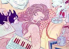 Cultura pop e ilustração, por Kirsten RothbartZupi