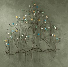 Tree, Floral & Branch Floral and branch wall decor are among the most popular styles of metal wall art. Tree wall decor and floral metal wall art such Metal Tree Wall Art, Metal Wall Sculpture, Tree Sculpture, Metal Wall Decor, Wall Sculptures, Metal Art, Tree Wall Decor, Wall Art Decor, Room Decor