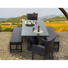 Found it at Wayfair - Napa 5 Piece Dining Set