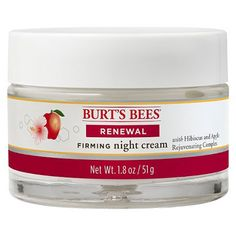 10 Drugstore Beauty Products Makeup Artists Swear By - Burt's Bees Renewal Firming Night Cream