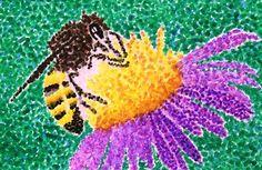 Dot Art Painting, Watercolor Paintings, Art Cart, 5th Grade Art, Watercolor Projects, Sharpie Art, Art Classroom, Teaching Art, Art Lessons