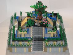 School Project Hanging Gardens One Brick At A Time Of Babylon