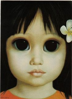 Big Eye Paintings by Keane | Margaret Keane Paintings Artist Art Gallery