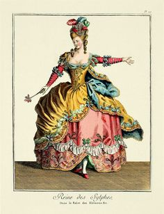 PARIS OPERA COSTUMES | Drama Queens - Opera Costumes from the time of Marie Antoinette