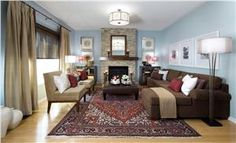 Transitional (Eclectic) Family Room by Jane Lockhart