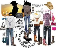 Great looks for that special girl who's not afraid to Cowgirl Up