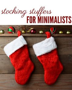 If you love clutter-free, try these stocking stuffers that are practical and frugal. The kids will love them, even though you probably would have bought them anyway.