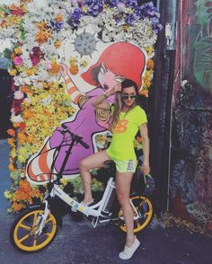 Instagram picutre by @cmorais88:  #nessebike #nessbike #eletricbike #ebike #miami #wynwood #streetart #bike - Shop E-Bikes at ElectricBikeCity.com (Use coupon PINTEREST for 10% off!)