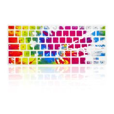 - Latest Design Colourful Tie Dye keyboard cover skin gives you a unique style look - Extra slim silicone skin, made it easier for typing - Protects against Dust, Spills, Key wear and more - Flexible,