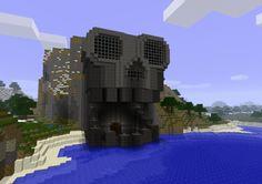 cool minecraft skull