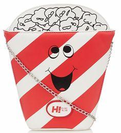 Designer red novelty popcorn cross body bag, £15.00 H! BY HENRY HOLLAND at Debenhams debenhams.com