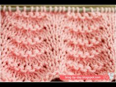 Blog By Day: Ponto Ondas :: Wave Stitch