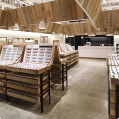 Image result for freestanding optical display Retail Store Design, Retail  Shop, Small Store Design d0799ca33da9