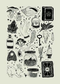Trendy Line Art Drawings Flowers Ink Ideas Flash Art Tattoos, Body Art Tattoos, Tattoo Flash Sheet, Kritzelei Tattoo, Tattoo Drawings, Luck Tattoo, Card Tattoo, Tattoo Sketches, Kunst Tattoos