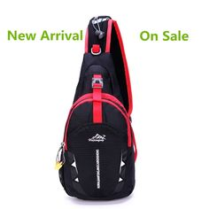 Water Resistant Outdoor Backpacks,Hiking Daypacks Sling Bag Chest Pack for Man and Woman -- Want additional info? Click on the image.