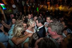 Matt Shumate Photography wedding photography at schweitzer mountain wedding reception dance party bride and groom and guests having fun and being happy
