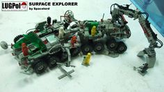 https://flic.kr/p/qx635E | Surface Explorer | One of my old MOCs | lego | classic space