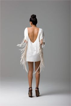 fringe dress = great for a night out on the town! Bohemian Mode, Boho Chic, Looks Party, Vestido Dress, Looks Street Style, Fringe Dress, Mode Inspiration, Dress Me Up, Look Fashion