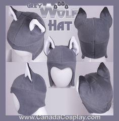 Grey Wolf Aviator Hat 2012 by calgarycosplay on deviantART
