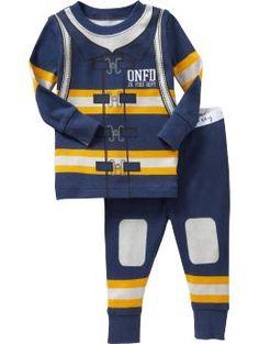 Old Navy fireman pajamas
