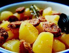 #Patatas con #chorizo de #León