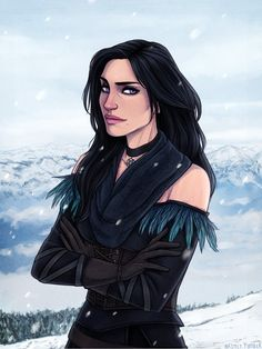 Yennefer - The Witcher 3: Wild Hunt by Naimly on DeviantArt