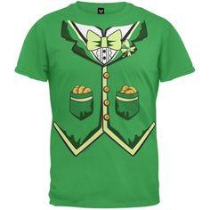 Irish Tuxedo T-Shirt - Youth Large