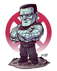 Chibi Colossus! I loved the version of him from Deadpool so I went with that costume. Prints available at dereklaufman.com (link is in…