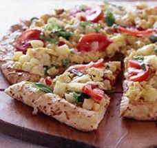 Heart Healthy Breakfast Pizza...