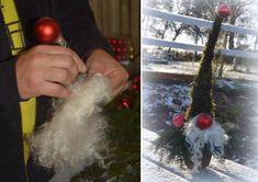 Inspirasjon – Min Oase Xmas Wreaths, Signs, Xmas Decorations, Christmas Bulbs, Holiday Decor, Diy, Home Decor, Advent, Ideas