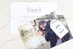 Invitación de boda de Project Party Studio {Colección 2015} #invitaciondebodas #weddinginvitations #tendenciasdebodas
