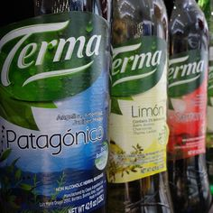 We also have fine products from Argentina! Tambien tenemos productos finos de Argentina! #Argentina #drink #Terma #MilanosBakery
