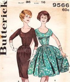 Dresses 50-s-style