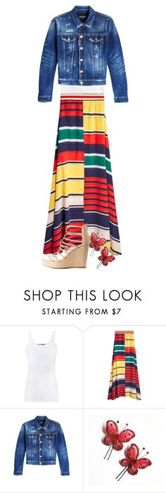 """Modestly Trending"" by burlsgurl ❤ liked on Polyvore featuring Vince, Dsquared2 and Bamboo"