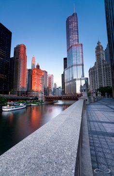 "Chicago""Serenity in the City"" by Chase Morgan Chicago Loop, Chicago Usa, Chicago River, Chicago City, Chicago Skyline, Chicago Illinois, Milwaukee City, Barack Obama, Lago Michigan"
