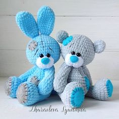 44 Awesome Crochet Amigurumi Patterns For You Kids for 2019 Part amigurumi for beginners; amigurumi for kids; Crochet Teddy Bear Pattern, Crochet Rabbit, Crochet Animal Patterns, Crochet Animals, Knitted Dolls, Crochet Dolls, Crochet Crafts, Crochet Pikachu, Crochet Patterns Amigurumi