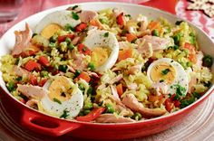 5 great syn free slimming world salmon recipes. Syn-Free Slimming World Poached Salmon Kedgeree Healthy Snacks For Kids, Healthy Dinner Recipes, Healthy Eating, Cooking Recipes, Healthy Fruits, Healthy Meals, Yummy Recipes, Healthy Food, Recipies