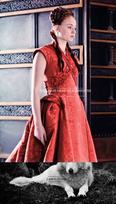 "Wedding gown costume worn by Sophie Turner playing Sansa Stark in ""Game of Thrones."" Season episode ""Second Sons. Sansa Stark, Game Of Thrones Dress, Game Of Thrones Sansa, Sophie Turner, Game Of Trone, My Champion, Gown Photos, Game Costumes, Halloween Costumes"