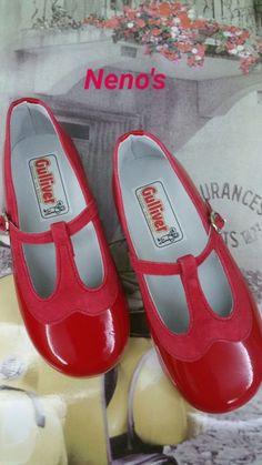 7a6fde3d Merceditas Gulliver Charol, Antifaz, Zapatos Para Niñas, Marino, Cierre,  Moda Para
