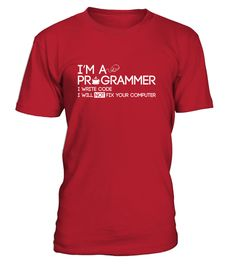 Need this shirt so bad can't believe how many people want me to fix there computer when they find out I'm a programmer haha