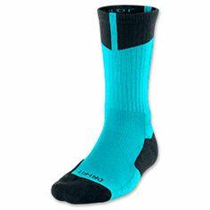 Men's Jordan Dri-FIT Crew Socks  FinishLine.com   Gamma Blue/Black