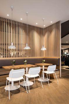 Primo Cafe Bar Tübingen by DIA – Dittel Architekten http://interiorsxdesign.com/2018/03/25/primo-cafe-bar-tubingen-by-dia-dittel-architekten/