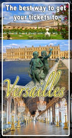 The BEST way to get your online tickets to the estate of Versailles ! Not just the amazing palace! ✅ Access to ALL areas of the Versailles museum and estate! ✅ The Palace of Versailles, the rooms and the Hall of Mirrors ✅ The palaces of Petit and Grand Trianon ✅ The fabulous estate of Marie-Antoinette's Estate ✅ The vast gardens of the Palace ✅ Access to all temporary exhibitions ✅ Show your smartphone ticket at entrance 'A'. ✅ Instant ticket delivery with our partner Tiqets Get Tickets, Online Tickets, Hall Of Mirrors, French Castles, Palace Of Versailles, Marie Antoinette, Palaces, Exhibitions