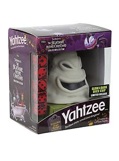 The Nightmare Before Christmas Collector's Edition Yahtzee,