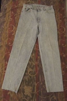 #vintage levis jeans  515 button made in usa  36x34 #levis